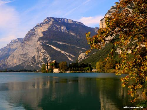 Monte Casale and Toblino Lake