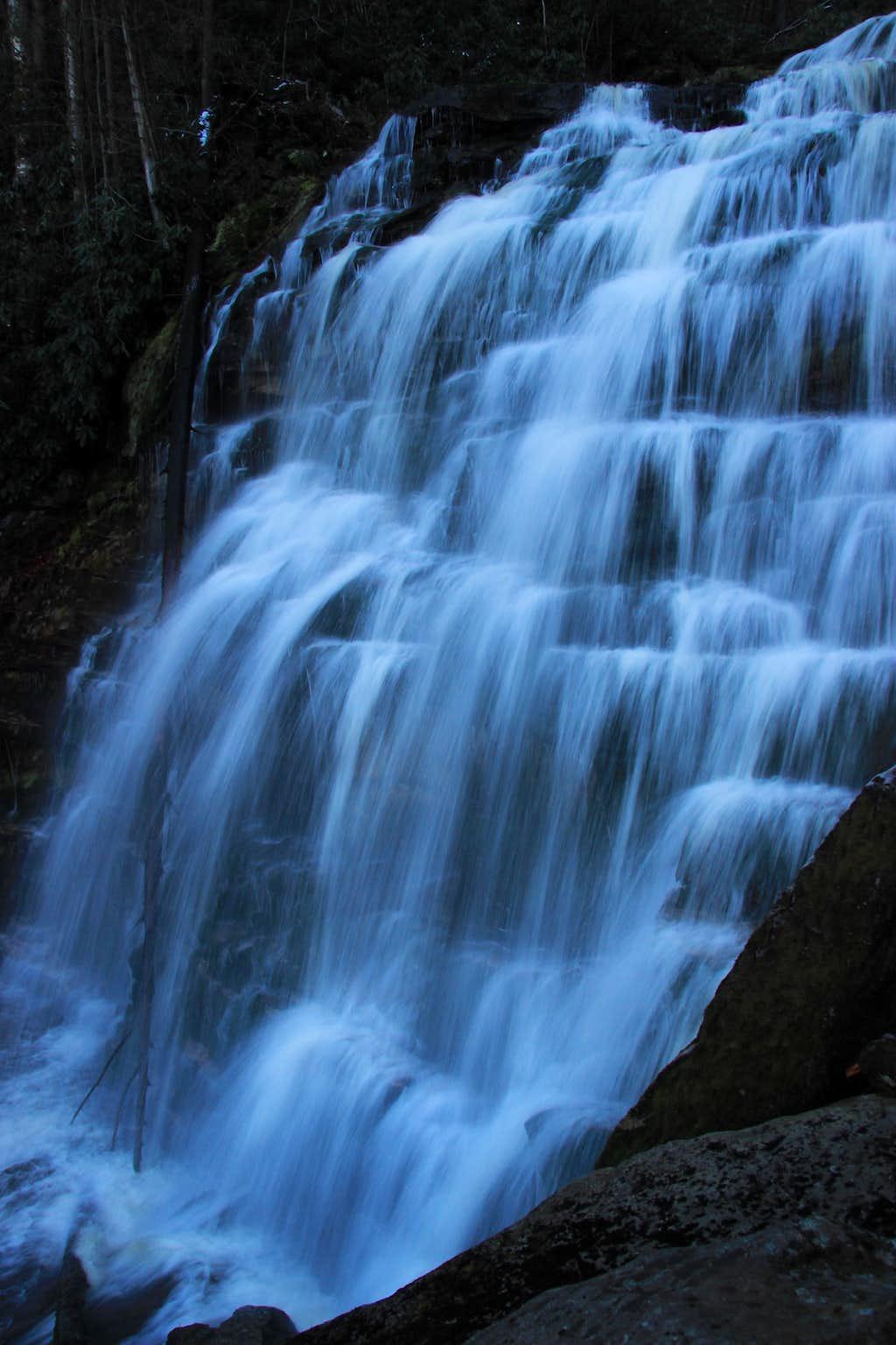 Falls on Elakala Creek