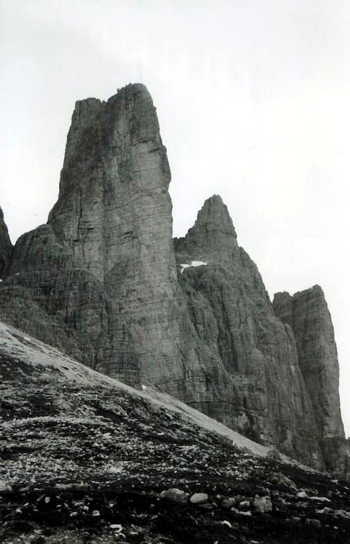 A Long ... Cima Piccola & Piccolissima di Lavaredo 1968