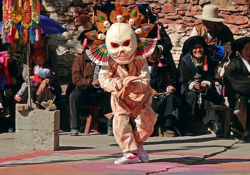 A dancing Tibetan-2