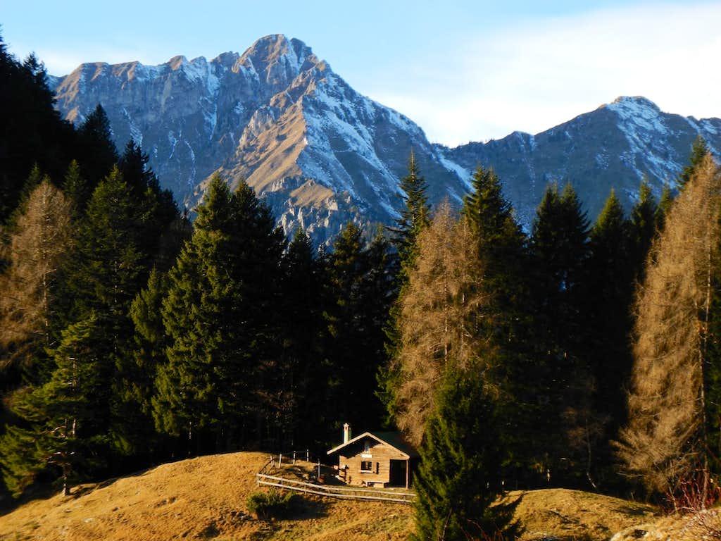 Cadria, the highest summit of Alpi di Ledro