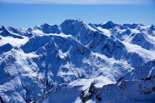Grosser Ramolkogel (11646 ft / 3550 m) & Firmisanschneide
