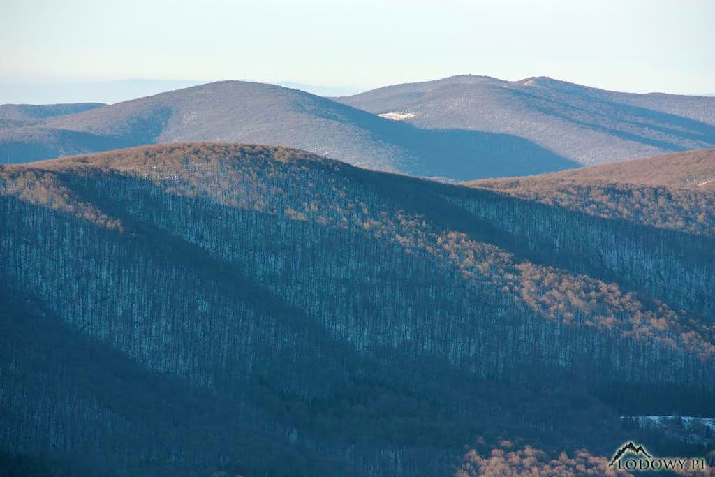 Mt.Rabia Skala from Polonina Carynska