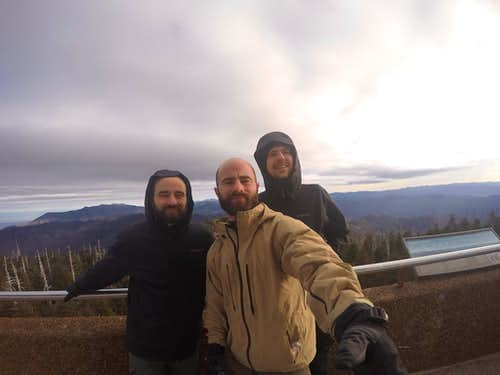 Video Clingmans Dome & Southern Six Pack, Winter, Highpoints 12-15