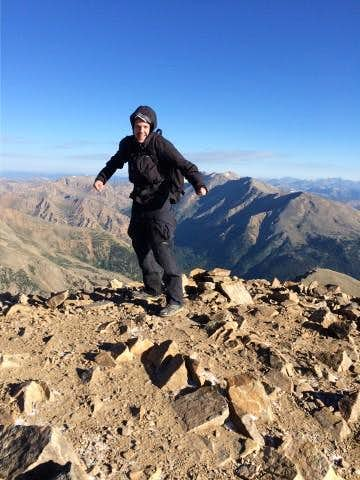 Video Mt. Elbert East Face, Solo--Highpoint #11
