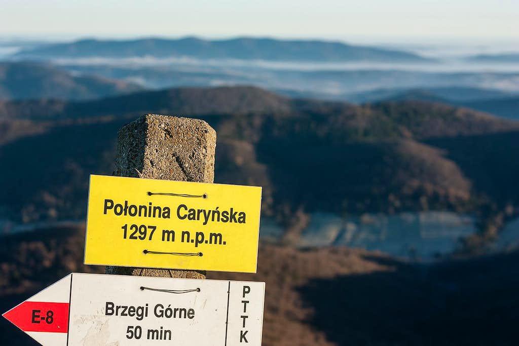 Polonina Carynska summit