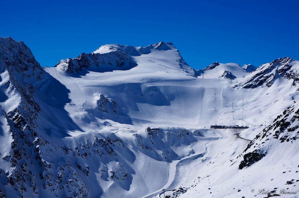 Innere Schwarze Schneid (11047 ft / 3367 m, N-Face)