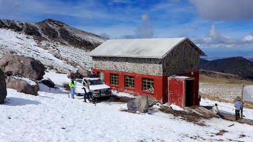 Piedre Grande Hut-Orizaba