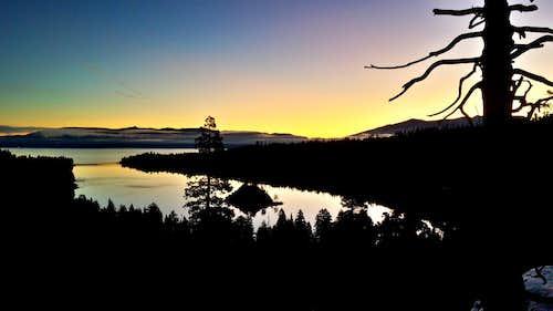 Burgeoning Dawn Over Emerald Bay