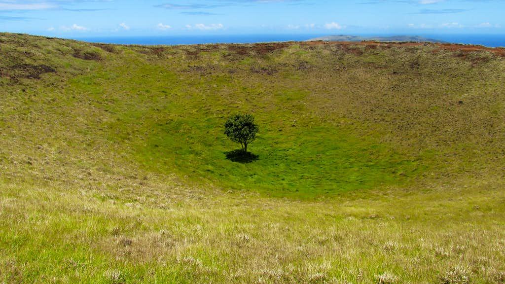 Maunga Puka Crater