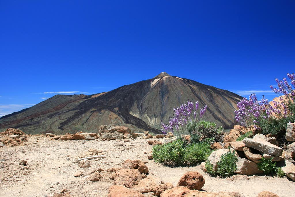Pico del Teide, 3.718m