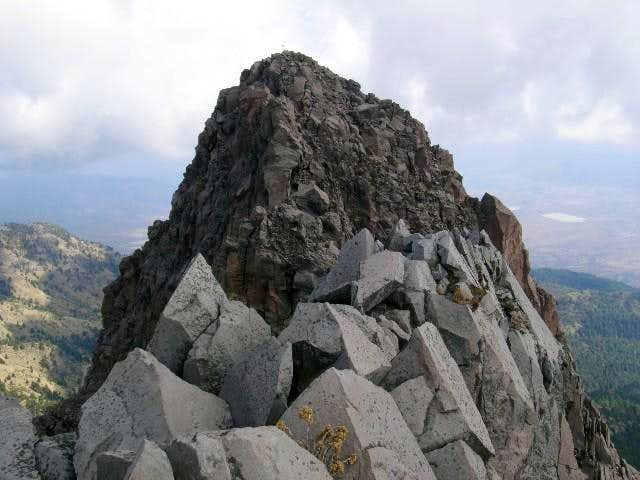This is the East Summit,...