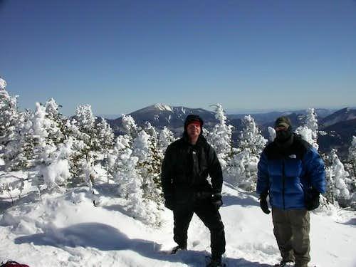 On the summit of Porter...
