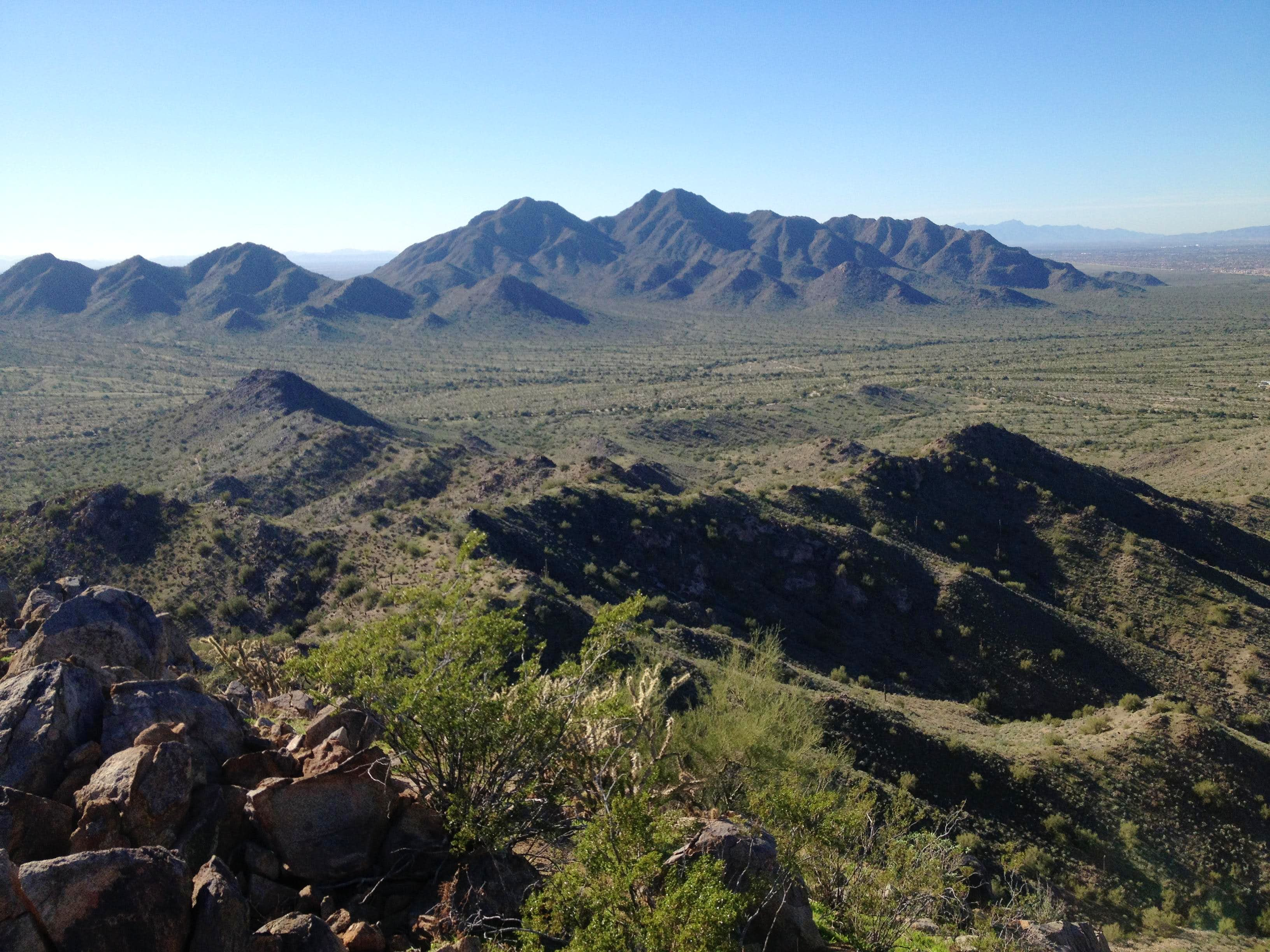 San Tan Mountains High Point