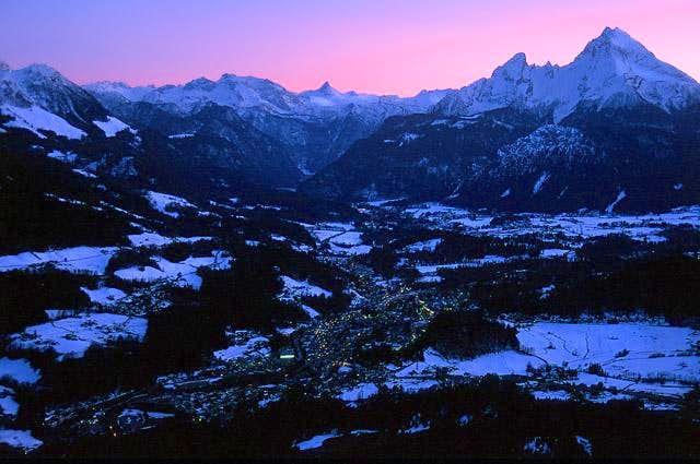 Berchtesgaden with Steinernes...
