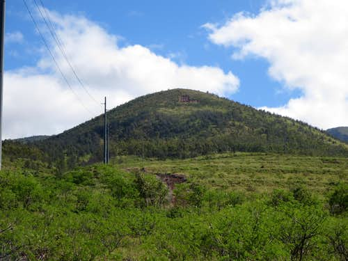 Mount Ball(Pa'upa'u)