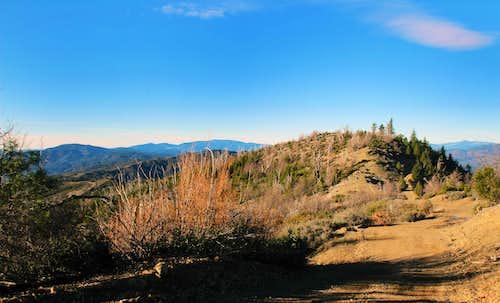 High Glade north peak