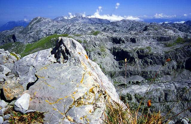 Hagengebirge from Grosses...