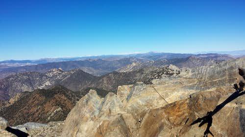 Owens summit view north Jan 2015