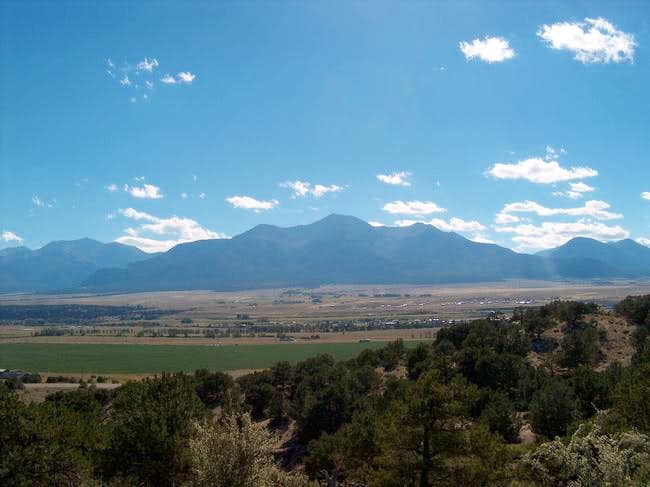 Mt. Princeton from the east,...