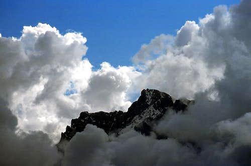 The summit of Hochkalter