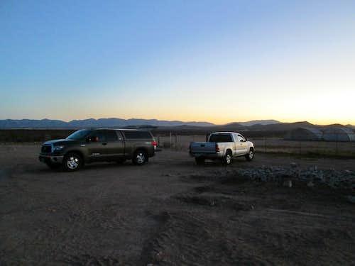 Camping near Tombstone AZ