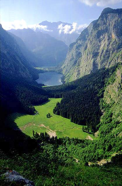 Obersee and - in background -...