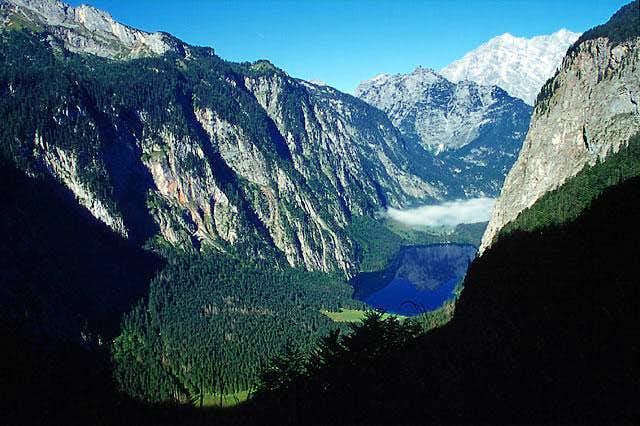 Obersee and Watzmann from...