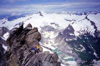On the West Ridge with...