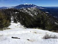 Just below summit...