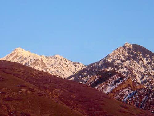 Broads Fork Twin Peaks...