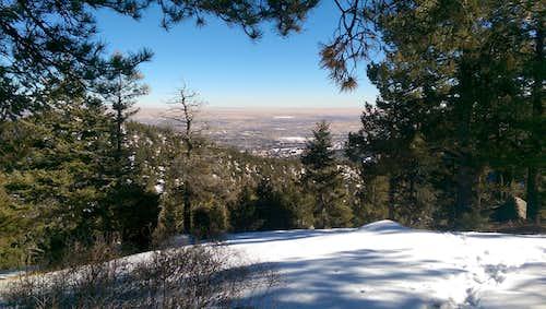 From Summit of Mount Buckhorn in Winter