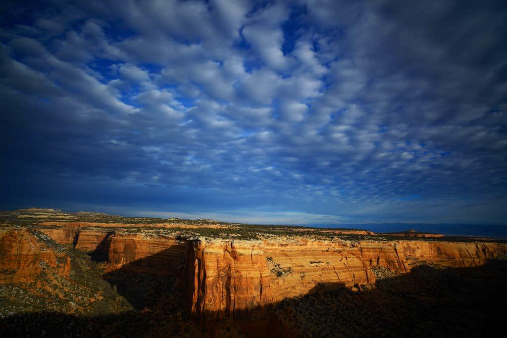 Ute Canyon's North wall