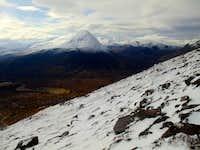 walking up the An Teallach ridge