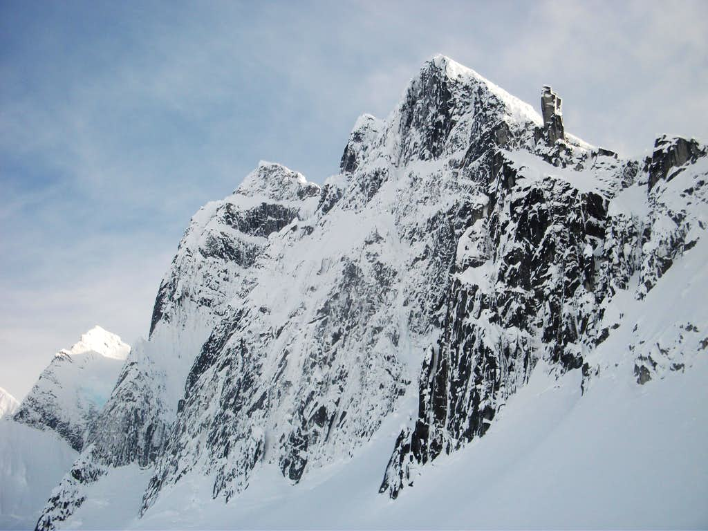 Mendenhall Towers North Face