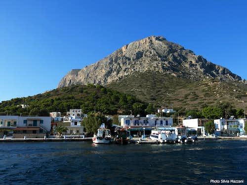 Telendos harbour