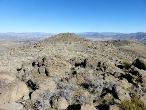 North Summit viewed from the South Summit