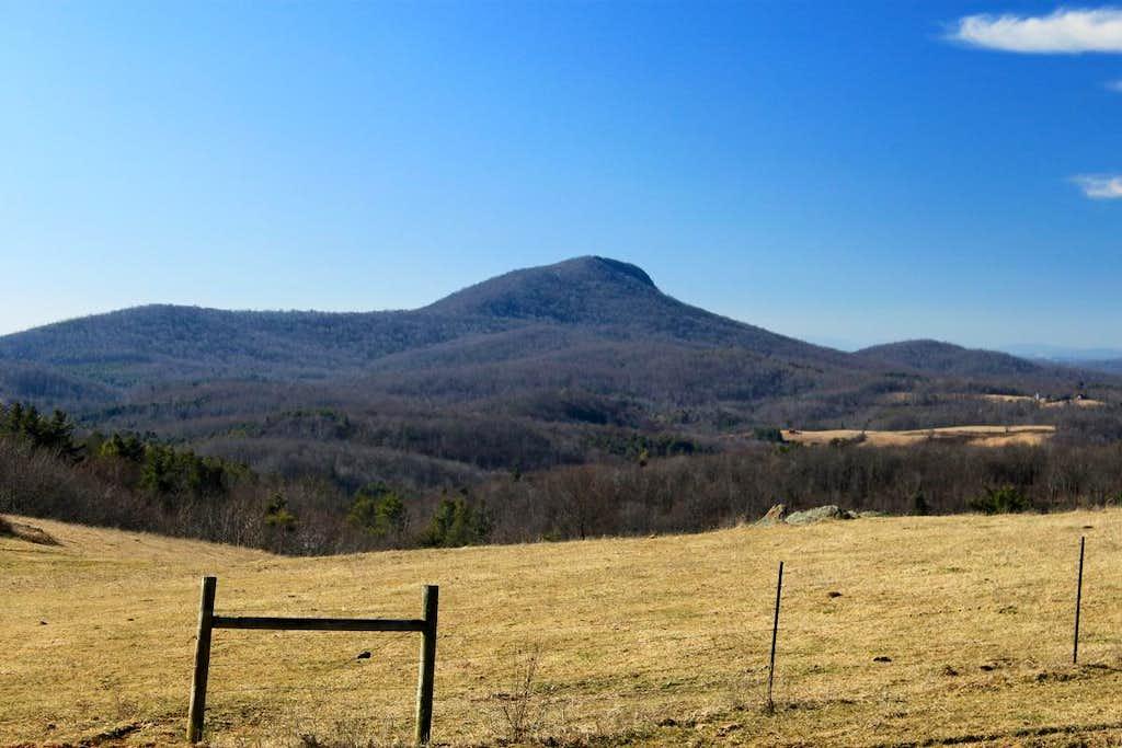 The Profile of Buffalo Mountain