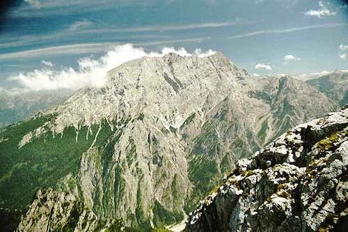 Watzmann's west side seen...