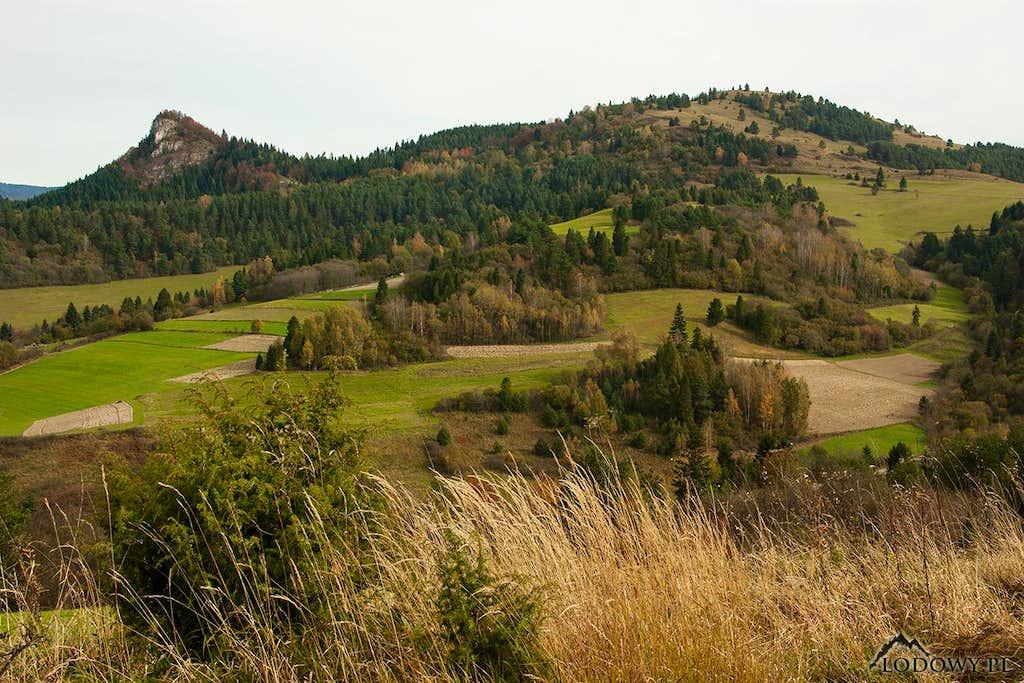 Mt.Rabstin and Male Pieniny