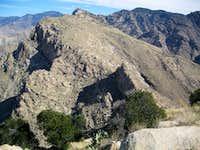 View northeast toward Mt Lemmon