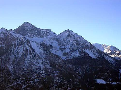Il monte Emilius (3559 m.) e...