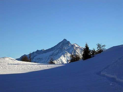La Grivola (3969 m.), vista...