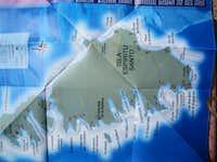 another map of Isla Espiritu Santo