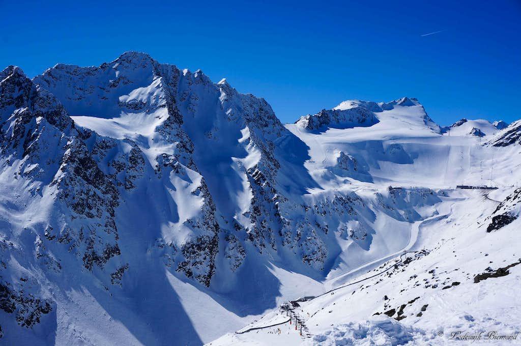 Aussere & Innere Schwarze Schneid (3340m)