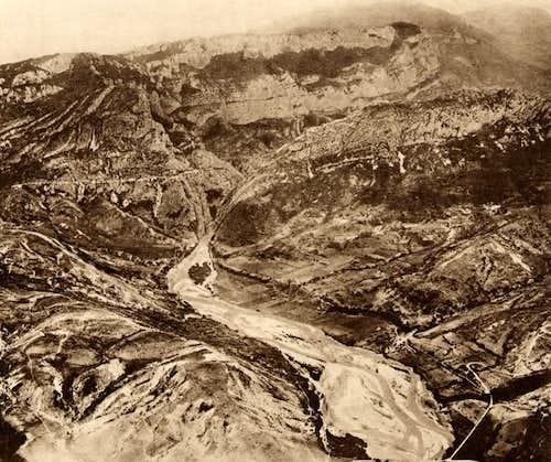 Le Verdon à la sortie du Canyon