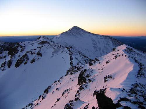 Agassiz Peak at sunrise (2004)