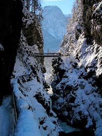 Lammer gorge.<br />
