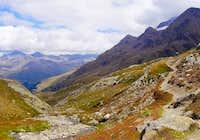 Gavia Pass area