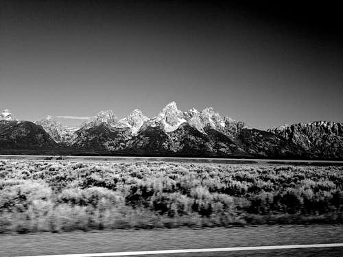 Tetons from US Highway 26